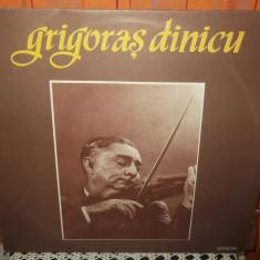 -Y- GRIGORAS DINICU - Muzica Lautareasca, VINIL