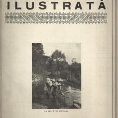 Revista ROMANIA ILUSTRATA : VEDERI DIN SATUL DRAGUS, JUDETUL FAGARAS - 1930