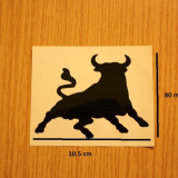 Sticker TAUR NEGRU