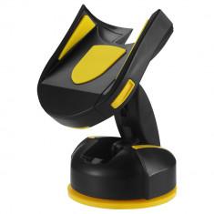 Suport JoyRoom sport car pentru telefon sau GPS cu prindere pe prabriz cu ventuza - Suport birou