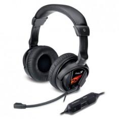 Casti Gaming Genius HS-G500V cu Microfon si Vibratii - Casca PC