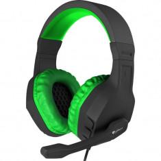 Casti gaming Genesis Argon 200 Green - Casca PC