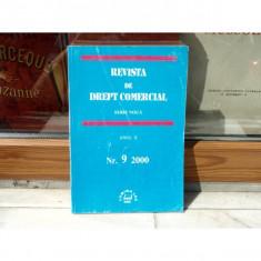 REVISTA DE DREPT COMERCIAL SERIE NOUA ANUL X NR.9 2000 , Cursuri