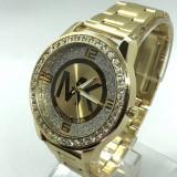 Ceas dama MICHAEL KORS Diamond Clasique 2-gold (Poze reale, Garantie), Quartz, Otel