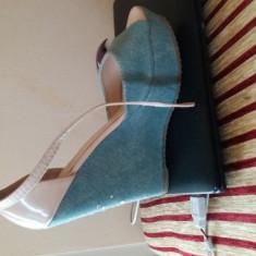 Sandale dama Joe S Jeans, Culoare: Albastru, Marime: 38.5
