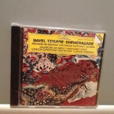 RAVEL:TZIGANE-SHEHERAZADE (1989/DEUTSCHE GRAMM. /RFG) - CD/ORIGINAL/NOU/SIGILAT - Muzica Clasica Deutsche Grammophon