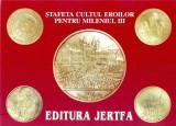 CP Z941 -STAFETA CULTUL EROILOR PENTRU MILENIUL III -EDITURA JERTFA -NECIRCULATA