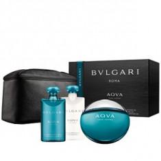 Bvlgari Aqva Pour Homme Set 100+75+75 pentru barbati - Parfum barbatesc Bvlgari