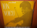 RECITAL ION VOICU   DISC VINIL