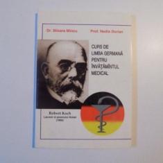 CURS DE LIMBA GERMANA PENTRU INVATAMANTUL MEDICAL de MIOARA MINCU , NADIA DORIAN