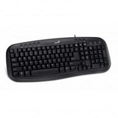 Tastatura Genius KB-M200, Multimedia, USB, Negru - Tastatura PC Genius, Cu fir