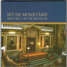 "Set de monetarie 2013: Universitatea Tehnica ""Gheorghe Asachi"" - Moneda Romania, Argint"