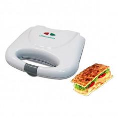 Aparat Sandwich Maker Hausberg, 750 W, culoare albă
