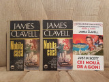 NOBILA CASA/CEI NOUA DRAGONI-JAMES CLAVELL/JUSTIN SCOTT (3 VOL)