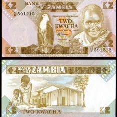 Zambia 1986 - 2 kwacha UNC