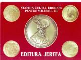 CP Z933 -STAFETA CULTUL EROILOR PENTRU MILENIUL III -EDITURA JERTFA -NECIRCULATA