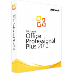 Microsoft Office 2010 Professional Plus - in limba Romana sau Engleza - Aplicatie PC