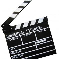 Clacheta clapperboard din lemn pentru studio de filmare