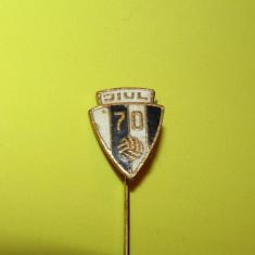 Insigna fotbal - JIUL PETROSANI