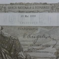 Bancnote romanesti 100lei 1932 - Bancnota romaneasca