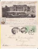 Bucuresti - Palatul Regal-  clasica,  rara, Circulata, Printata
