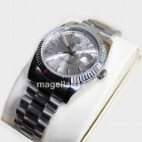 Day-Date Automatic ! ! ! Silver Case ! ! Calitate Premium ! - Ceas barbatesc, Lux - elegant, Mecanic-Automatic, Inox, Data