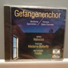 FAMOUS OPERA CHORUSES - VERDI.....(1990/DECCA/GERMANY) - CD/ORIGINAL/NOU/SIGILAT - Muzica Clasica decca classics