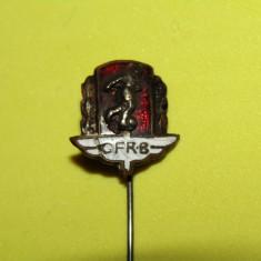 Insigna (veche - anii`30) fotbal - CFR BUCURESTI (RAPID BUCURESTI) - Insigna fotbal