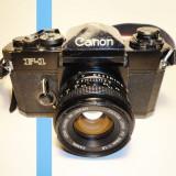 Canon F-1 + Canon FD 50mm 1.8
