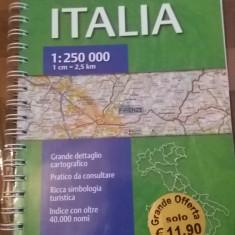Atlas rutier - Italia - 1:250000 - Ghid de calatorie