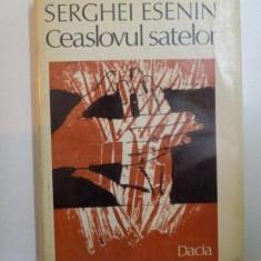 CEASLOVUL SATELOR DE SERGHEI ESENIN - Roman