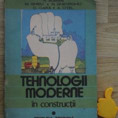 Tehnologii moderne in constructii Suman Ghibu Gheorghiu vol I
