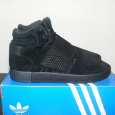 Ghete Adidas Tubular Invader Strap Black nr. 41 42 43 - Ghete barbati Adidas, Marime: 41 1/3, 43 1/3, 44, Culoare: Negru, Piele intoarsa