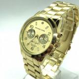 Ceas dama MICHAEL KORS MK1038 -NEW YORK- Gold (Poze reale, Garantie), Quartz, Otel, Analog