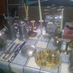 Colectie obiecte arta din alama,bronz.zinc,decor,vintage,functionale
