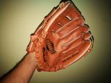 Manusa din piele Baseball, Markwort. Noua. Din piele (Synthetic Durable Leather)