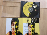 The fast 90 s vol 3 compilatie cd disc hituri muzica pop rock rap hip hop vest