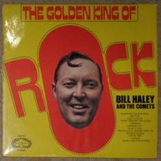 Vinyl/vinil Bill Haley And The Comets-The Golden King Of Rock, England 1971 - Muzica Rock & Roll