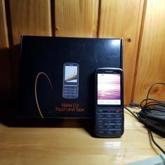 Nokia C3-01.5 - Telefon mobil Nokia C3-01, Gri, Orange