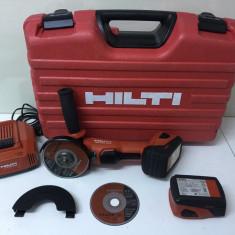 Polizor Unghiular pe Baterie Hilti AG 126-A22 Fabricație 2013