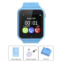 Smartwatch pentru copii cu GPS, Touchscreen, Bluetooth, Camera, Garantie!, Alte materiale, Android Wear, Apple Watch