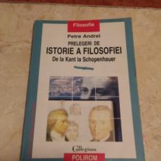 Prelegeri De Istorie A Filosofiei De La Kant La Schopenhauer - Petre Andrei