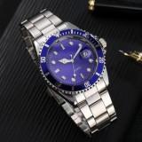 Ceas barbatesc stil Rolex, albastru