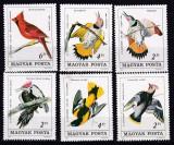 Ungaria  1985  fauna  pasari  MI 3760-65  MNH  w47, Nestampilat