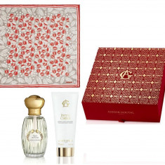 Set Vent de Folie by Annick Goutal Parfum (50 ml) + Lotiune de Corp (100 ml) si Esarfa Cacharel - Set parfum