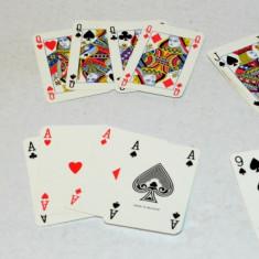 Carti de joc plastifiate, Carta Mundi - Canasta, Romme, Poker - Reclama Ford