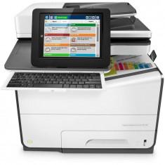 Multifunctionala HP PageWide Enterprise Color Flow MFP 586z A4 InkJet Color USB LAN Alb