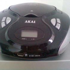 Radio-cd, usb si card AKAI - CD player