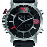 Ceas Puma PU911371001 Ultrasize,dualtime,cronograf, Casual, Quartz, Otel