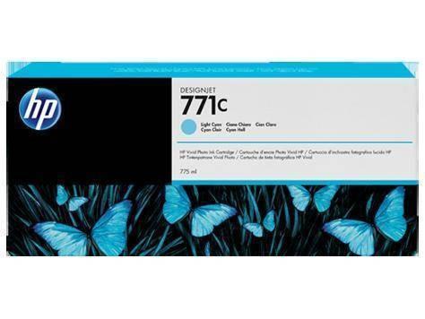 Consumabil HP Cartus 771C Light Cyan B6Y12A foto mare